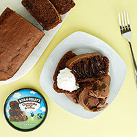Recipe: 3-Ingredient Ice Cream Banana Bread